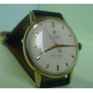 1950s'  C mark Citizen hand - winding vintage watch, fully servicing.