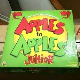 Apples to Apples Junior Board Game