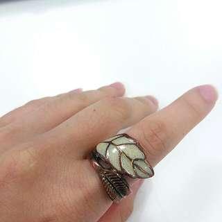 Forever 21 Vintage Rustic Rose Gold Ring