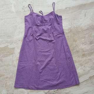 Esprit purple dress