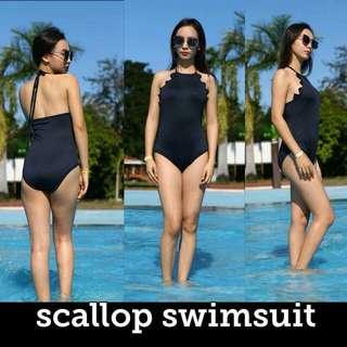 Scallop Swimsuit