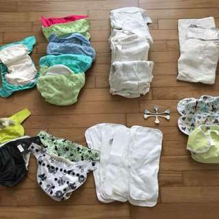 Cloth Diapers and Accessories