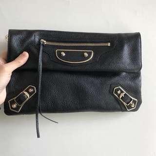 Balenciaga Classic Metallic Edge envelope bag
