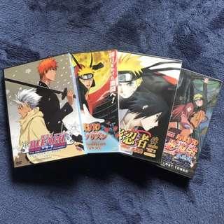 Anime Movie DVDs - Naruto/Bleach