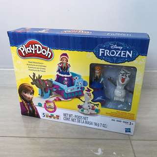 Free Delivery Brand New Play Doh Disney Frozen Sled Adventure Playset by Hasbro