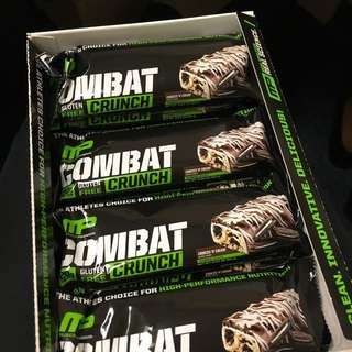 MP Combat Crunch Protein Bar Cookie 'N' Cream 蛋白棒