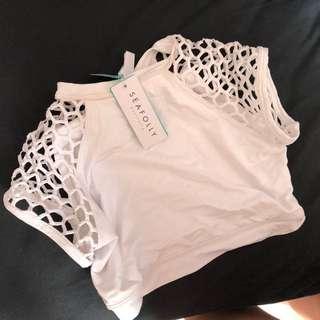 seafolly mesh bikini top