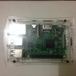 Raspberry pi 3 (with fiber glass case)