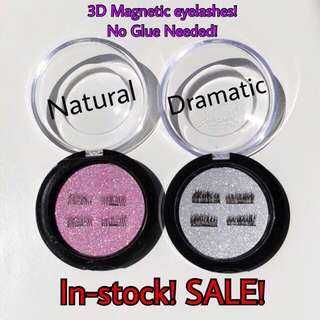 3D Magnetic Soft EyeLashes 👀INSTOCKS!✨ON SALE!