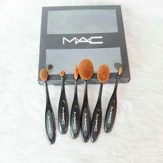 Mac Paddle Brush Set (Black)