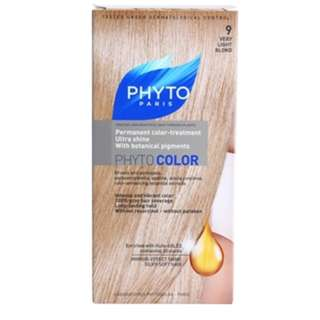 """PHYTO COLOR SHADE """"9 VERY LIGHT BLOND"""""""