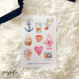 Planner Sticker CODE: ME TIME