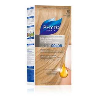 """PHYTO COLOR SHADE """"9D VERY LIGHT GOLDEN BLOND"""