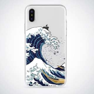 Iphone Samsung Oppo Huawei Wave Soft Case