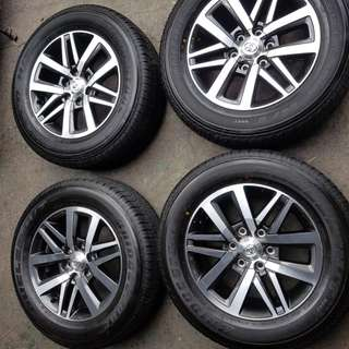 "Mags 18"" and Tires Fortuner V Variant"