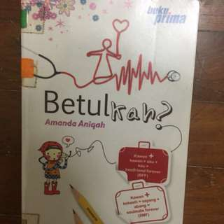Malay Novel : Betulkah?