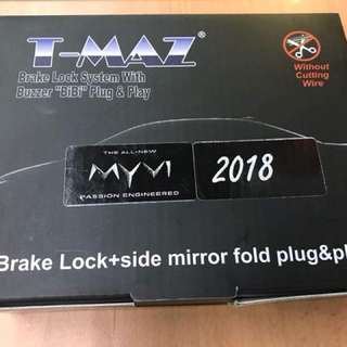 myvi 18 brake lock - 3 in 1