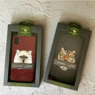 *iPhone 系列 刺繡 仿皮 手機殼