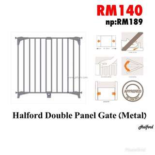 Halford Double Panel Gate (Metal)