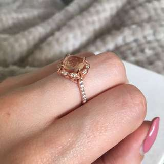 Size 7 Rose Gold Ring