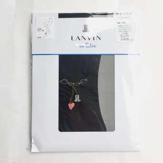 (QQ) 購自日本 日版 Lanvin en Bleu 最新 心心 刺繡 閃石 Lanvin logo 包腳 絲襪褲