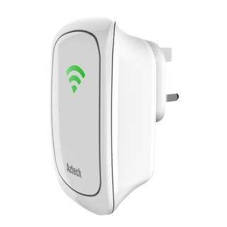 WL559E Aztech Wall-Plugged 300Mbps Wi-Fi Repeater
