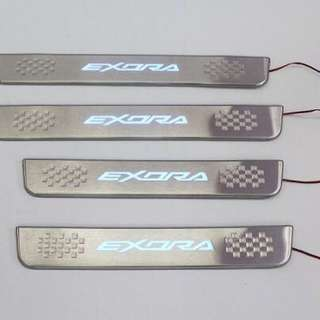 Proton Exora Side steel Step w/led