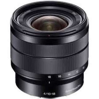 Sony 10-18 mm lens f4 oss 10-18mm