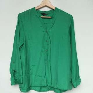 NEW Women's green blouse, blouse hijau wanita, freesize