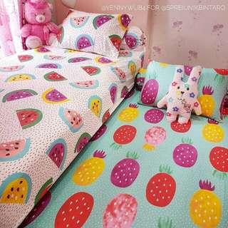 Sprei Duo Bed 2 in 1 (120x200x25)