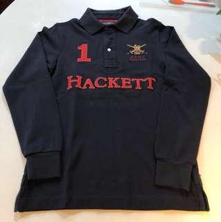 Hackett army polo long sleeve
