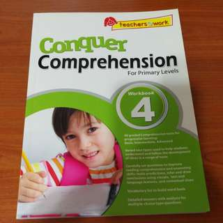 [Brand New] Conquer Comprehension - Primary 4