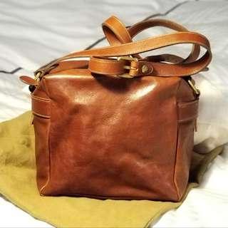iL Bisonte shoulder Bag -Cognac