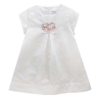 Chateau De Stable Shell Heart Dress 12M