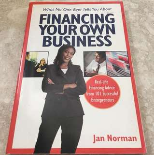 Financing your own business