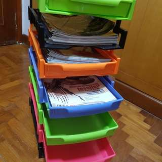 A4 size paper/Book/File Stacker