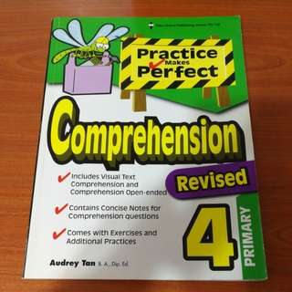 [Brand New] Primary 4 - Practice Makes Perfect Comprehension