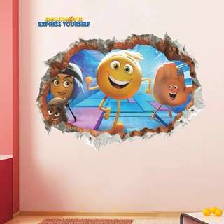 😜Emoji Wall decal / wall stickers / home deco