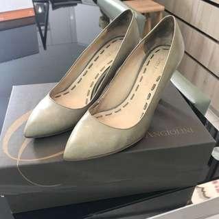 Enzo Angiolini水綠色高跟鞋