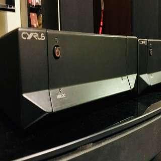 Cyrus Mbloc Power Amp X2