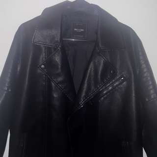 Only & Sons leather jacket