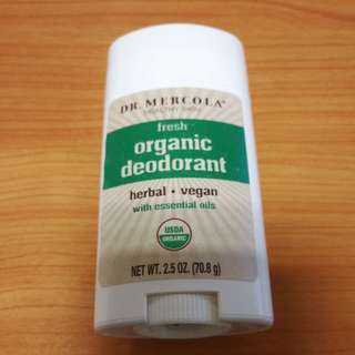 Dr Mercola Organic deodorant