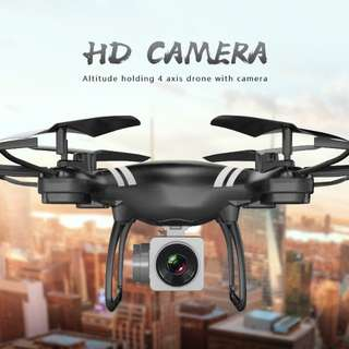 Mini Camera Drone KY101 - Camera, Smarphone App, One Key Takeoff, Landing & Return, Altitdue Hold, Headless Mode (CVAIA-G874)