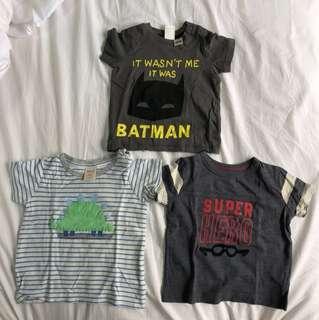 Tee shirts - Seed Heritage, Osh Kosh, h&m