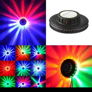RGB Auto Color Changing Rotating Popular Magic Disco DJ Stage Lighting Sunflower 48 LED RGB Bar Party Effect Light lamp