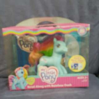 new my little pony read n play read along with rainbow dash