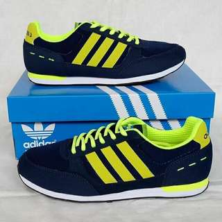 Adidas neo city racer navy lime