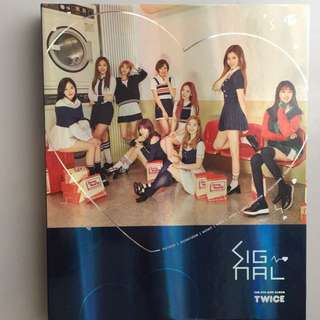 Twice Signal專輯