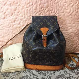 LV montsouris backpack 🎒