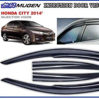 Honda City 14' Door Visor - Mugen